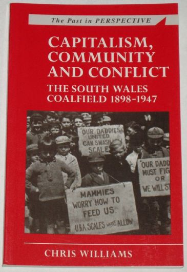 Capitalism, Community and Conflict - The South Wales Coalfield 1898-1947, by Chris Williams